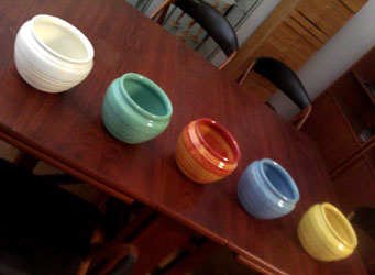 Pacific Pottery collection c.1930's