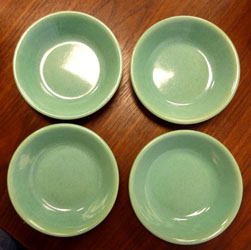Green plates by Pacific