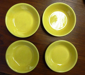 Yellow plates by Pacific